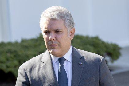 02/03/2020 El presidente de Colombia, Iván Duque, durante su última visita oficial a la Casa Blanca. POLITICA SUDAMÉRICA COLOMBIA LATINOAMÉRICA INTERNACIONAL STEFANI REYNOLDS / ZUMA PRESS / CONTACTOPHOTO