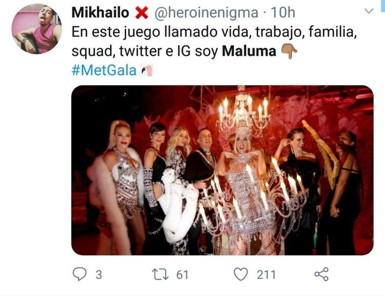 Detrás de Katy Perry estaba Maluma