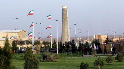 La planta de enriquecimiento de uranio de Natanz, en Isfahan (AP)