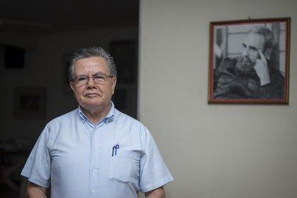 Henry Ruíz, ex miembro de la dirección nacional del FSLN en los años 80s. (Foto: Oscar Navarrete para Infobae).