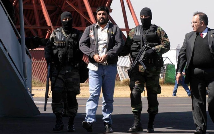 """Alfredo Beltrán Leyva, alias""""El Mochomo"""", fu condenado a cadena perpetua, además del pago de una multa de 529 millones de dólares"""