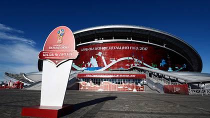 El Kazan Arena se terminó de construir en 2013 y actualmente acoge los partidos del Rubin Kazán, de la Primera División rusa