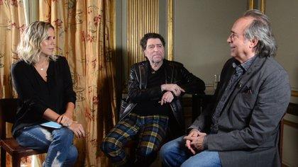 Joan Manuel Serrat y Joaquín Sabina a solas con Teleshow