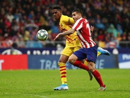 Ángel Correa fue titular en el Atlético (Reuters)