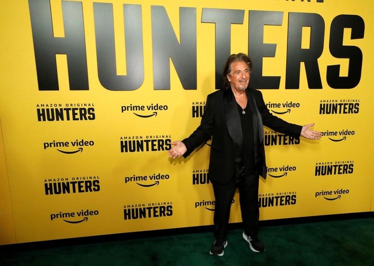 Hunters, con Al Pacino, una de las series que se pueden ver en Amazon (Foto: REUTERS/Mario Anzuoni)