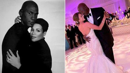 Michael Jordan se casó en dos oportunidades