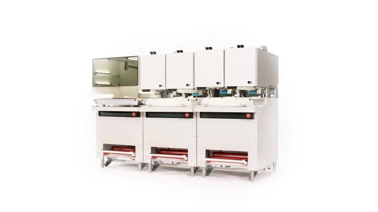 Picnic en CES 2020: cada módulo robótico tiene una tarea en la producción de pizza
