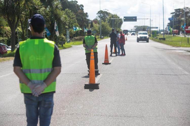 En Mar del Plata, hay controles vehiculares en los acceso a la ciudad (Christian Heit)