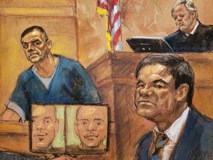 El juicio contra GUzmán Loera se realizó entre finales de 2018 y principios de 2019 ( REUTERS/Jane Rosenberg)