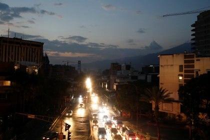 Caracas, en penumbras (REUTERS/Marco Bello)