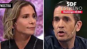 """El tenso cruce entre Diego Ramos y Ángela Lerena por el sketch de José María Listorti y su mujer: """"Te ponés en 'maestra ciruela'"""""""