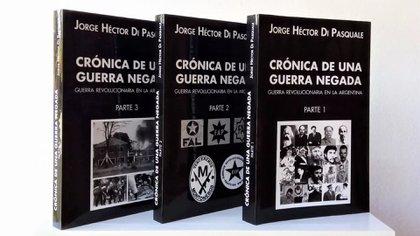 El libro escrito en Campo de Mayo y presentado en la Feria