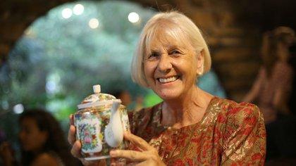 Sonia es una apasionada de la lectura y creó, desde hace 36 años, un lugar que reúne la cultura y la gastronomía