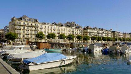 En Ginebra alquilar un apartamento pequeño cuesta más USD 2.300 mensuales y comer en un restaurante no baja de los USD 47