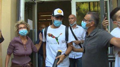El examen de Luis Suárez, en vuelto en una polémica (REUTERS)