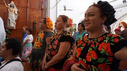 Los muxes de Oaxaca, una de las comunidades de sexualidad diversa más respetadas (Foto: Proyecto Quetzalcóatl)