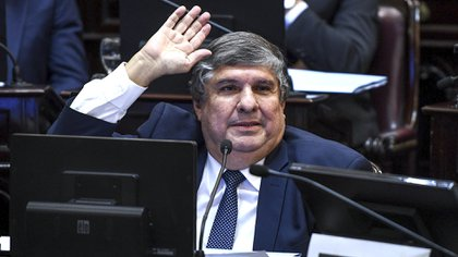 José Mayans, jefe del bloque de senadores del Frente de Todos, fue uno de los promotores de la carta al FMI