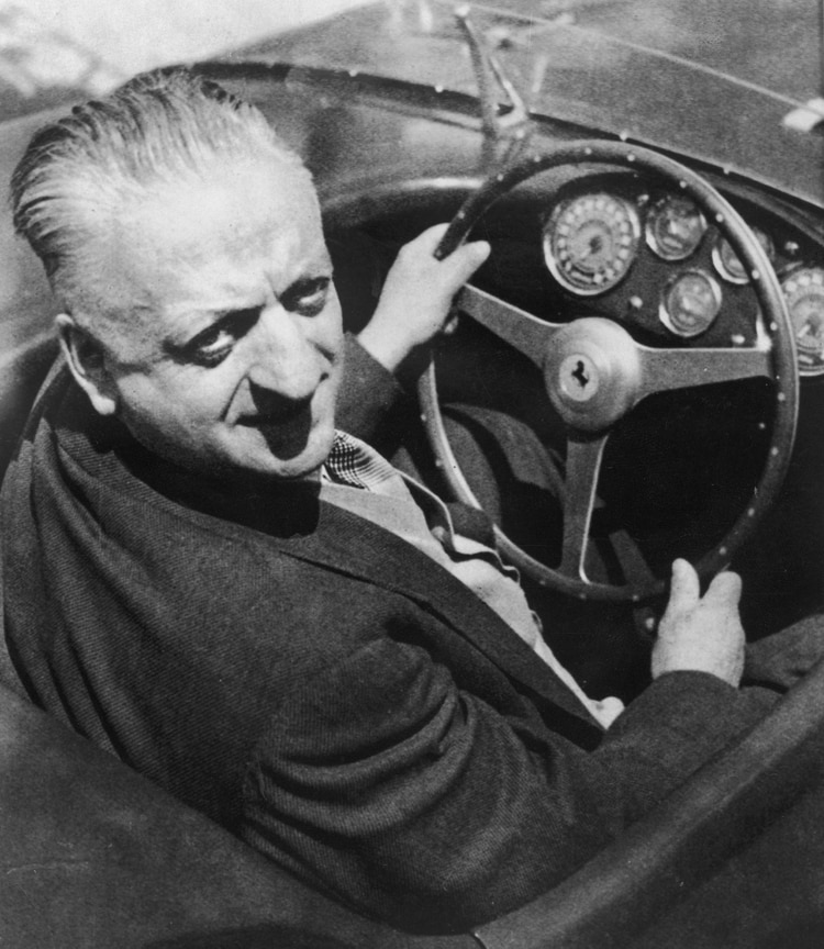 Enzo Ferrari, el padre de los autos más codiciados del mundo.