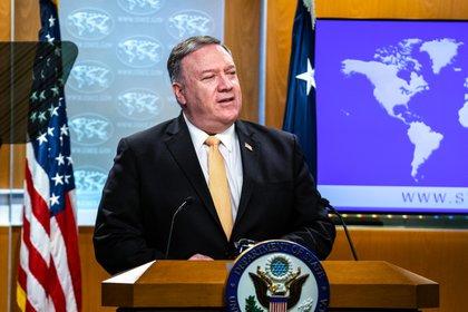 El secretario de Estado de EEUU, Mike Pompeo (Ronny Przysucha/DPA)