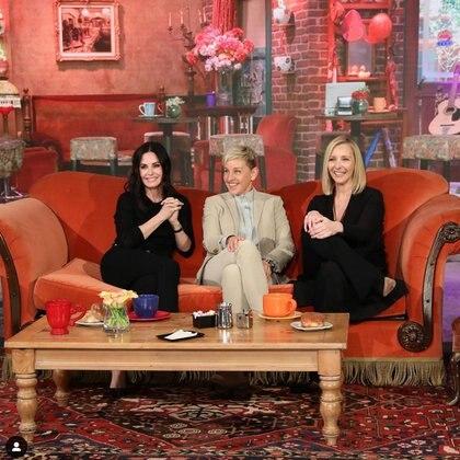 "Ellen DeGeneres reunió a Courtney Cox y a Lisa Kudrow de ""Friends"""