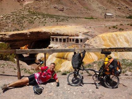 Agustín cruzó la Cordillera