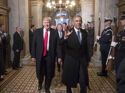 """El triunfo de Obama en 2008 no le impidió percibir """"una reacción emocional, casi visceral"""", derivada de que fuera el primer presidente afroamericano. """"Y eso es exactamente lo que Donald Trump comprendió cuando comenzó a promover afirmaciones de que yo no había nacido en los Estados Unidos"""". (Shutterstock)"""
