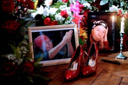 Imagen de su funeral
