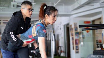 Gui Yuna insiste en que su discapacidad le ha permitido triunfar en ámbitos que jamás se hubiese imaginado (AFP)