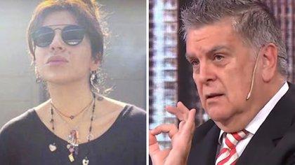 Sigue la guerra mediática entre Gianinna Maradona y Luis Ventura