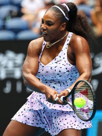 Serena Williams probó un baño de miles de  dólares (REUTERS)