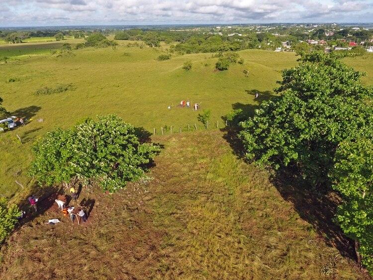 En una imagen sin fecha proporcionada por Takeshi Inomata, La Carmelita, un sitio arqueológico maya recientemente descubierto. (Takeshi Inomata via The New York Times)