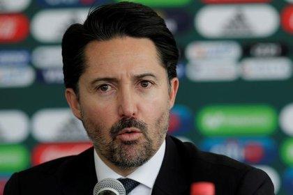 Yon de Luisa, presidente de la Federación Mexicana de Fútbol (Foto: Daniel Becerril/ Reuters)