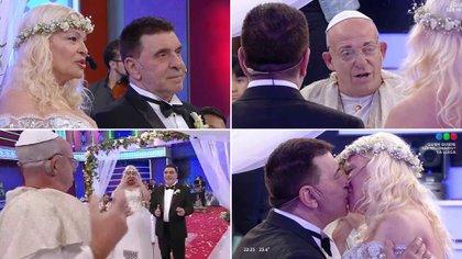"""El casamiento de Silvia Süller y Jacobo Winograd en """"El Precio Justo"""""""