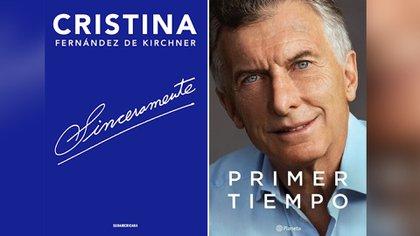 """En su primera semana de lanzamiento, el libro de Mauricio Macri encabeza las ventas y empieza a medirse con """"Sinceramente""""."""