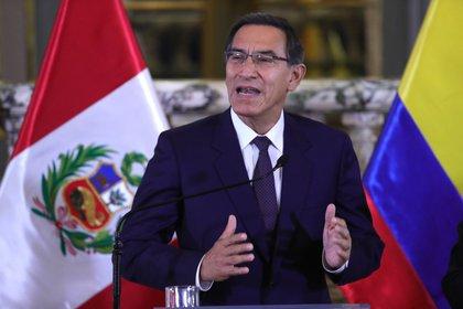 Martín Vizcarra podrá aspirar al Congreso (EFE/ Ernesto Arias/Archivo)
