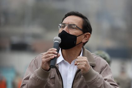 El ex presidente de Perú, Martín Vizcarra (EFE/Paolo Aguilar/Archivo)