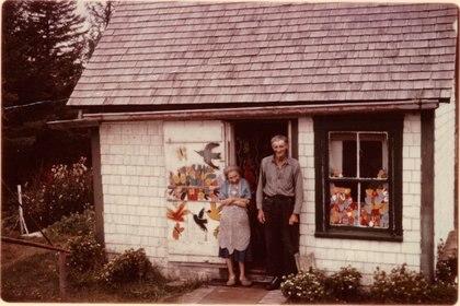 Maude y Everret Lewis