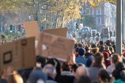 28/11/2020 Protestas contra la Ley de Seguridad Integral POLITICA EUROPA FRANCIA INTERNACIONAL NICOLAS BEAUMONT / ZUMA PRESS / CONTACTOPHOTO