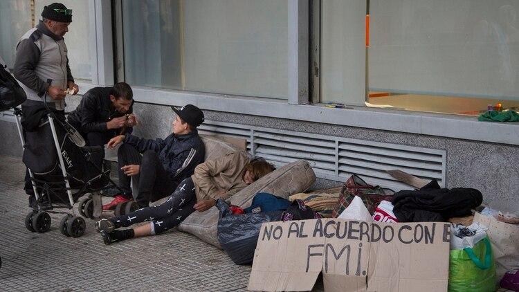 zzzznacp2NOTICIAS ARGENTINAS BAIRES, SEPTIEMBRE 27: La pobreza trepó al 27,3% en el segundo semestre. Foto NA: DANIEL VIDESzzzz