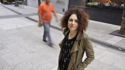 Eva Halac nació en Buenos Aires, estudió actuación en la escuela de Agustín Alezzo y Ciencias Políticas en la UBA (Foto – Sandra Cartasso)