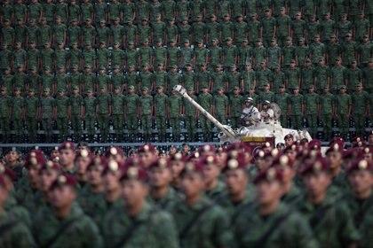 Las contrataciones que realizó el ejército mexicano fueron directas o por invitación (Foto: Ilse Huesca /Cuartoscuro)