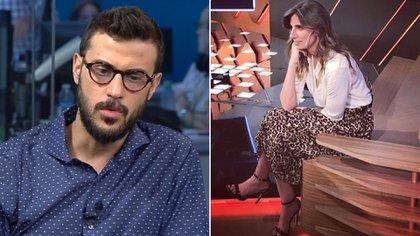 Diego Leuco y Luciana Geuna, los posibles reemplazantes a ocupar el lugar que dejará Mariana Fabbiani a las 14.30 horas en El Trece