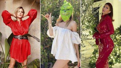 Mery del Cerro, Guillermina Valdés y Kylie Jenner, con sus outfits navideños
