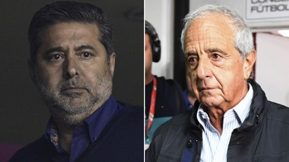 Angelici y D'Onofrio habían iniciado sus gestiones en Boca y RIver siendo aliados políticos