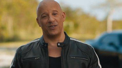 """06/05/2021 Vin Diesel celebra el regreso al cine de Fast & Furious 9 con un mensaje en español: """"Nadie vuelve como las películas"""" CULTURA UNIVERSAL PICTURES"""