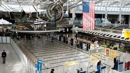 El aeropuerto Kennedy en Nueva York (AFP)