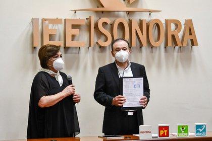 Alfonso Durazo, contiende por la gubernatura de Sonora