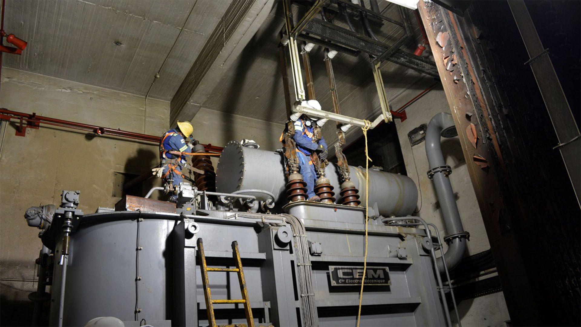 pruebas a transformadores metro (Foto: Twitter@MetroCDMX)