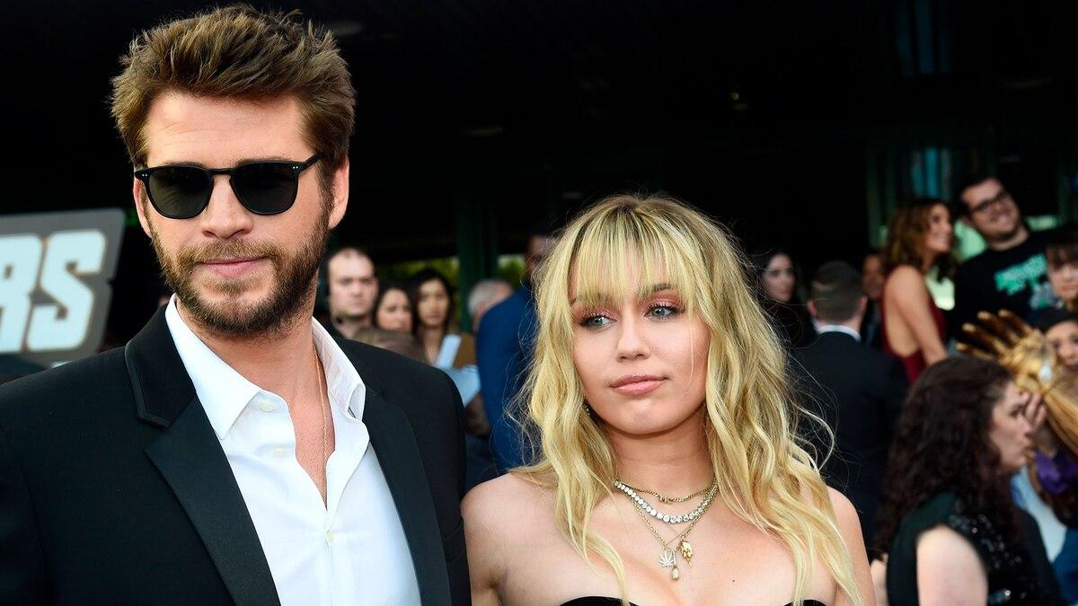 """El descargo de Miley Cyrus en Twitter tras conocer que Liam Hemsworth le pidió el divorcio: """"No fui infiel"""""""