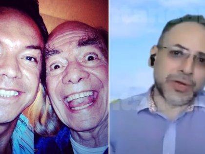 Iván Valdés (d) reveló que a su abuelo no le gusta que Marcos Valdés se cuelgue de su fama (IG: medmundovaldes / Captura YouTube-Ventaneando)